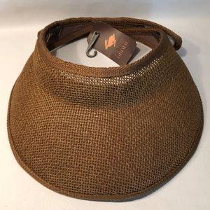 Women's Sun Hat Cap Brown Adjustable New!